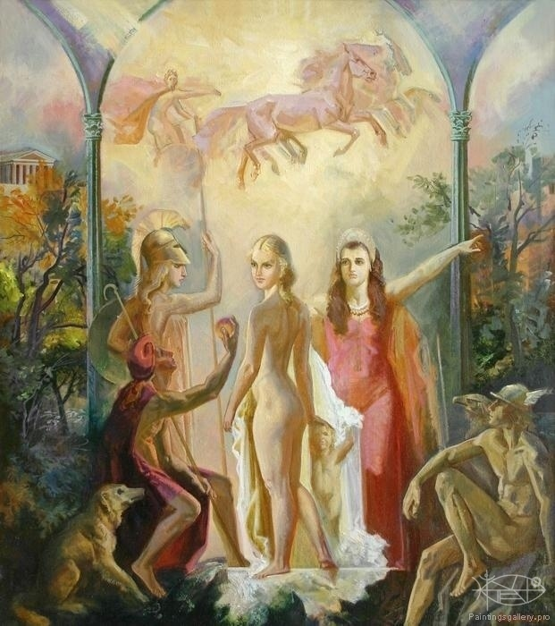 Panfilcev Nikolay - 'The Judgement of Paris'