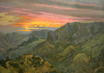 Pawlov Peter - 'Santiago. Sunset'
