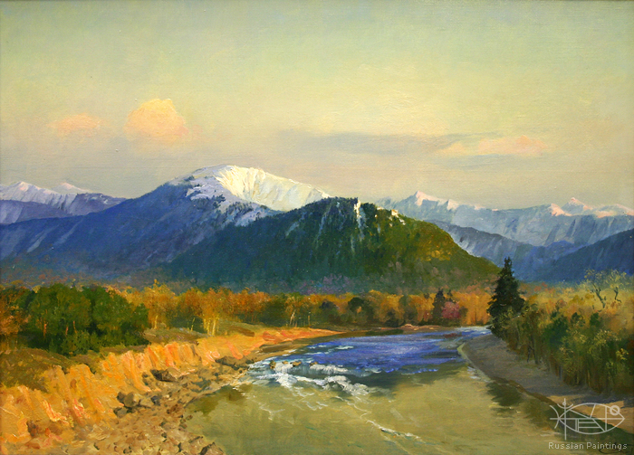 Pawlov Peter - 'The Ledyanka River'
