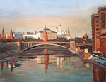 Polienko Ivan  - 'Evening on the Moskva River'