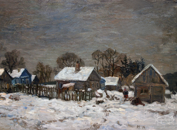 Polienko Ivan - 'Grey Sky and White Snow'