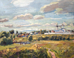 Polienko Ivan - 'Outskirts of Suzdal'