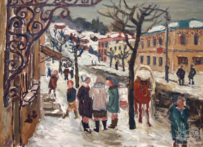 Polienko Ivan - 'Winter in Tarusa'