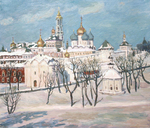 Polienko Ivan - 'Winter in Zagorsk'