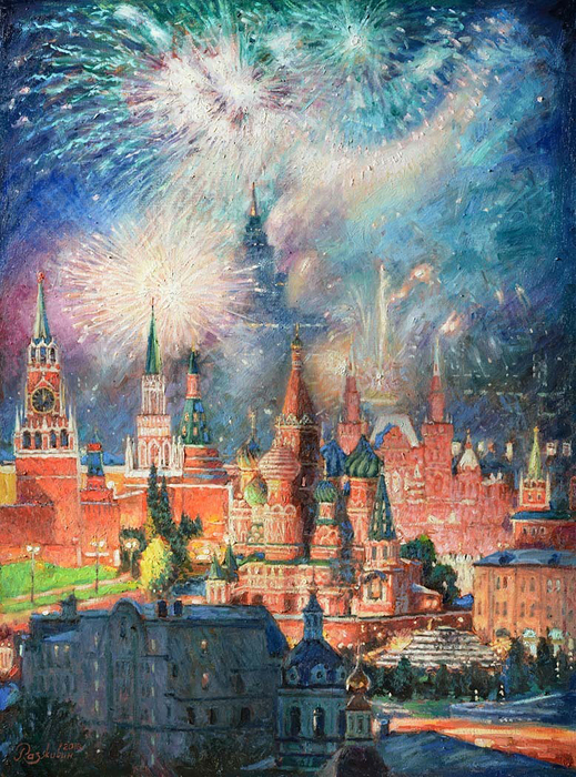 Razzhivin Igor - 'Alluring Light of Fireworks'