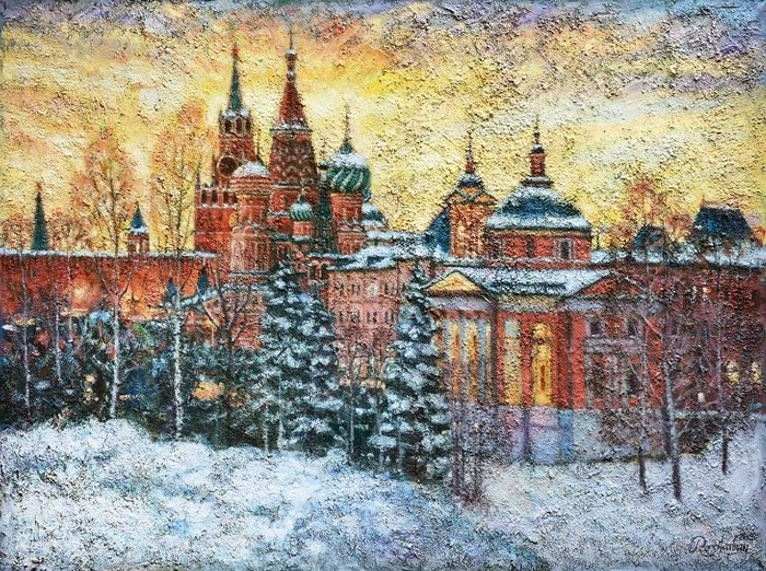 Razzhivin Igor Vladimirovich - 'Amber Sunset Light'