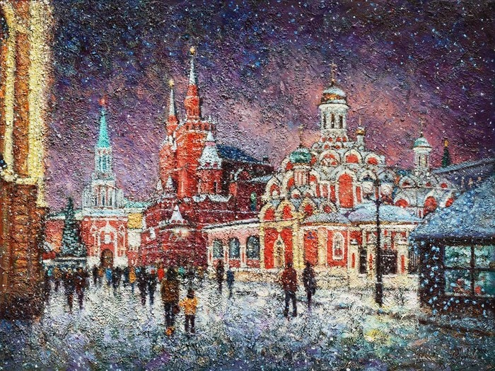 Razzhivin Igor - 'At Night before Christmas'