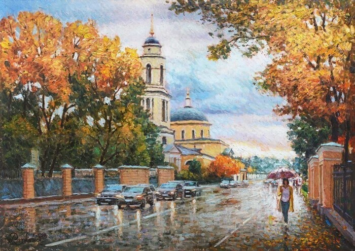 Razzhivin Igor - 'Autumn Invites for a Walk'