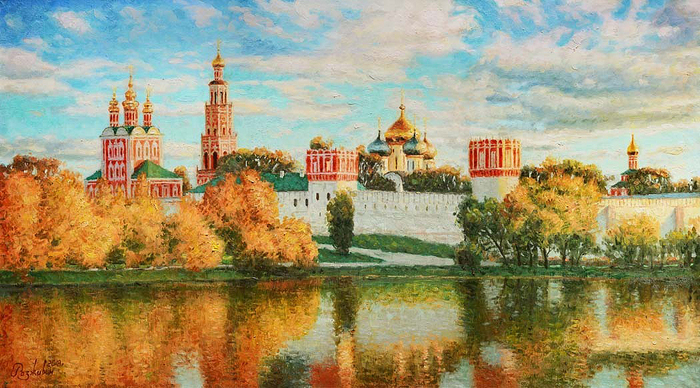 Razzhivin Igor Vladimirovich - 'Autumn Is Reflected in the Water'