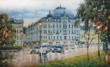 Razzhivin Igor Vladimirovich - 'Evening Rain Breath'