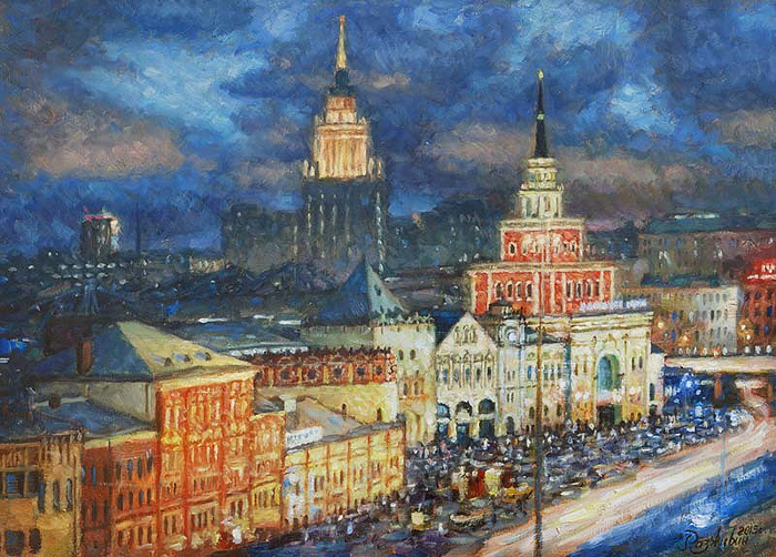 Razzhivin Igor Vladimirovich - 'Evening Rhythm of the Station'