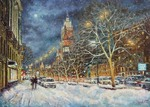 Razzhivin Igor - 'In the Snowy Moscow'