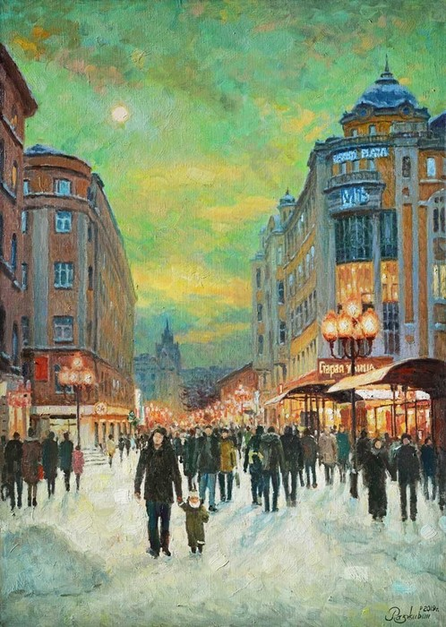 Razzhivin Igor - 'Lamps on the Arbat'