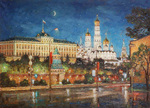 Razzhivin Igor - 'Moonlight Night. Moscow'