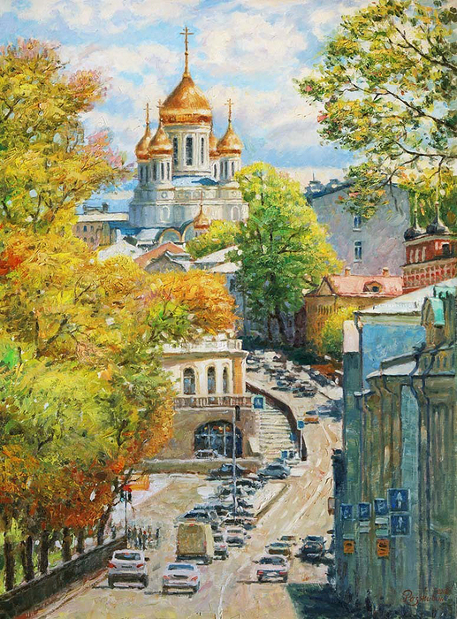 Razzhivin Igor - 'New Look of the Favorite City'