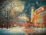 Razzhivin Igor Vladimirovich - 'On the Winter Street, in the Middle of the Evening Lights...'