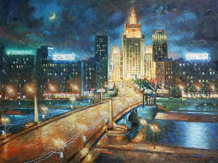 Razzhivin Igor Vladimirovich - 'Plunging into the Night'