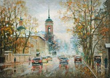 Razzhivin Igor Vladimirovich - 'Rain Is Bluring the Colors'