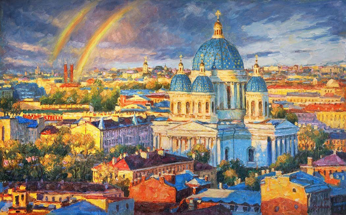 Razzhivin Igor - 'Rainbow Mood of the Northern Capital'