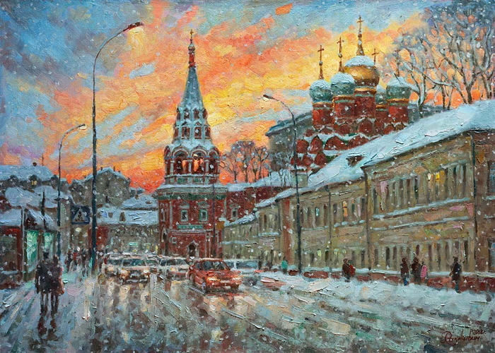 Razzhivin Igor - 'The Beauty of the Winter Sunset'