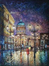 Razzhivin Igor Vladimirovich - 'The Evening City Is Bright and Inviting...'
