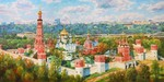 Razzhivin Igor - 'The Greatness of the Novodevichiy Convent'