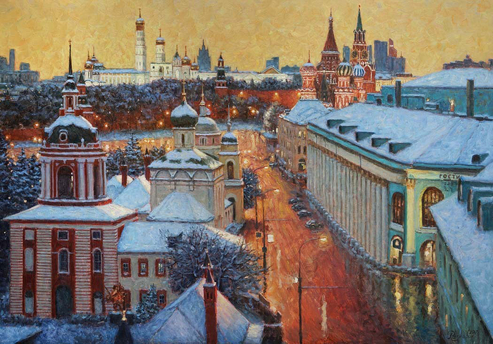Razzhivin Igor Vladimirovich - 'The Magic City'