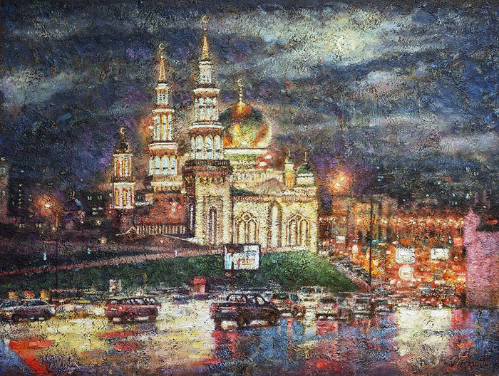 Razzhivin Igor Vladimirovich - 'The Moscow Cathedral Mosque'