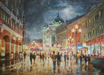 Razzhivin Igor Vladimirovich - 'Walk on the Evening Arbat'