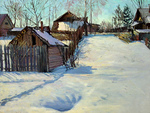 Romanow Vladimir - 'At the Edge of the Village'