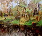 Romanow Vladimir - 'Autumn Lake'