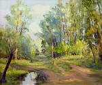 Romanow Vladimir - 'Dried Up Pond'