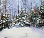 Romanow Vladimir - 'In Winter'