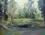 Romanow Vladimir - 'Lake in the Forest'