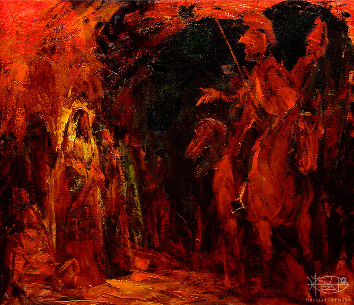 Romanow Vladimir - 'Night Guards'