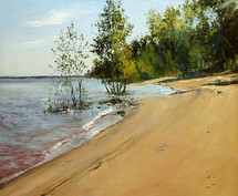 Romanow Vladimir - 'On the Bank of the Volga River'