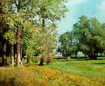 Romanow Vladimir - 'Summer. Water-meadow'