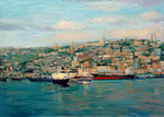 Romanow Vladimir - 'The Haifa Port'