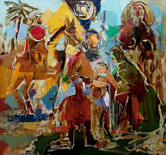Romanow Vladimir - 'Traveling from Egypt'