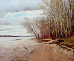 Romanow Vladimir - 'Volga. The Late Autumn'