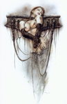 Royo Luis  - 'The Cross of Pleasure'