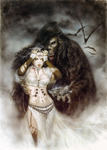 Royo Luis  - 'The Cross of the Night'