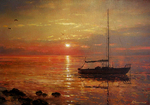 Sarychev Alexander - 'Colors of the Evening Sun'
