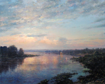 Sarychev Alexander - 'Dawn on the Tom River'