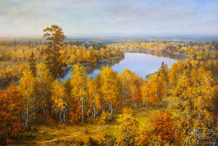 Sarychev Alexander - 'Gold of Autumn'