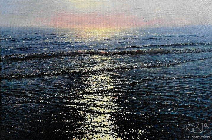 Sarychev Alexander - 'Patches of Light of the Black Sea'