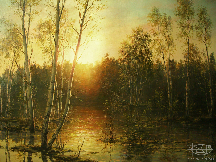 Russian Paintings Gallery - Artists - Sarychev Alexander