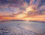 Sarychev Alexander - 'Winter Road'