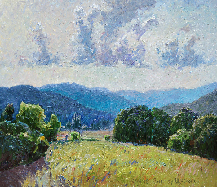 Schesnyak Viktor - 'Summer in the Belbek Valley'