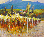 Schesnyak Viktor  - 'Sunlight. Vineyards'